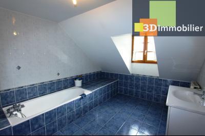 Proche Bletterans (39 - Jura) à vendre maison récente de 5 chambres sur 3000 m² de terrain., SALLE DE BAINS ETAGE 2