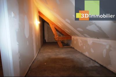 Proche Bletterans (39 - Jura) à vendre maison récente de 5 chambres sur 3000 m² de terrain., GRENIER SOUS RAMPANT