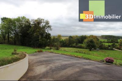 Proche Bletterans (39 - Jura) à vendre maison récente de 5 chambres sur 3000 m² de terrain., VUE PIECE DE VIE