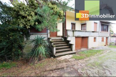 Secteur BLETTERANS (39 - JURA) à vendre maison à la campagne de 5 pièces sur 1843 m² de terrain., ACCES GARAGE