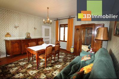 Secteur BLETTERANS (39 - JURA) à vendre maison à la campagne de 5 pièces sur 1843 m² de terrain., SEJOUR 22 m²