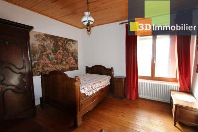 Secteur BLETTERANS (39 - JURA) à vendre maison à la campagne de 5 pièces sur 1843 m² de terrain., CHAMBRE OU SALON 15 m²