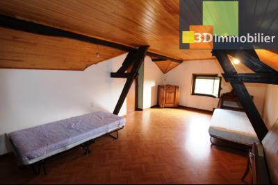 Secteur BLETTERANS (39 - JURA) à vendre maison à la campagne de 5 pièces sur 1843 m² de terrain., CHAMBRE ETAGE 2 5 m²