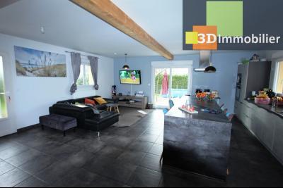 Bletterans centre (39140), à vendre maison de plain-pied avec 5 chambres sur 502 m² de terrain., PIECE DE VIE