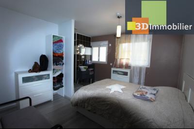 Bletterans centre (39140), à vendre maison de plain-pied avec 5 chambres sur 502 m² de terrain., SUITE PARENTALE