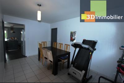 Bletterans centre (39140), à vendre maison de plain-pied avec 5 chambres sur 502 m² de terrain., SEJOUR