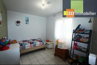 Bletterans centre (39140), à vendre maison de plain-pied avec 5 chambres sur 502 m² de terrain., CH3