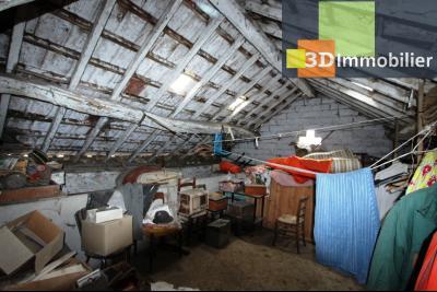 Secteur Bletterans (39 JURA), à vendre maison à réhabiliter avec dépendances sur 4628 m² de terrain., TOITUE MAISON