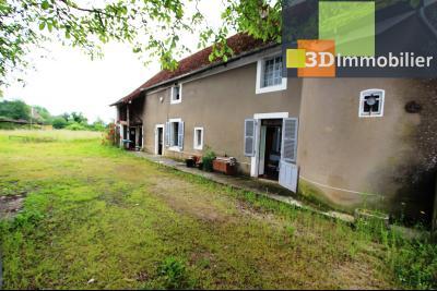 Secteur Bletterans (39 JURA), à vendre maison à réhabiliter avec dépendances sur 4628 m² de terrain., MAISON A VENDRE