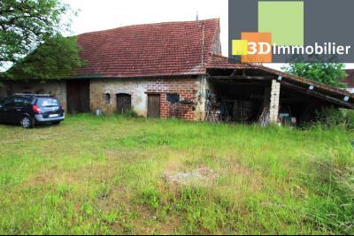 Secteur Bletterans (39 JURA), à vendre maison à réhabiliter avec dépendances sur 4628 m² de terrain., DEPENDANCE NON ATTENANTE