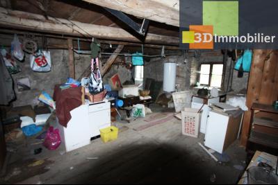 Secteur Bletterans (39 JURA), à vendre maison à réhabiliter avec dépendances sur 4628 m² de terrain., GRENIER