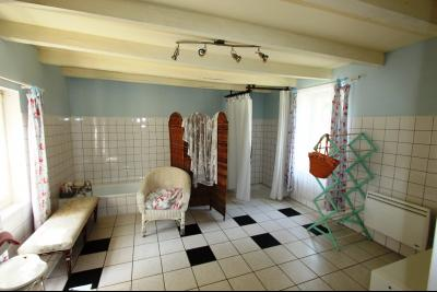 Pierre de Bresse, vends maison de caractère avec gîte indépendant sur 1700 m² de terrain, SDB rez-de-chaussée
