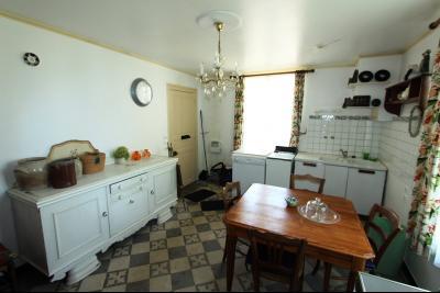Pierre de Bresse, vends maison de caractère avec gîte indépendant sur 1700 m² de terrain, Cuisine Gîte