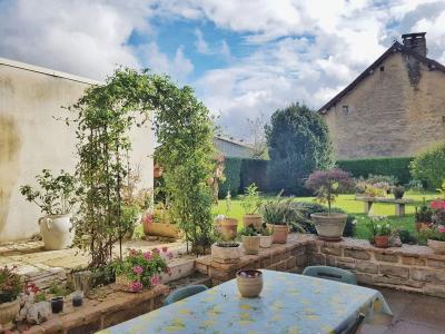 Maison pierres 170m² + 90m² CRANÇOT-LONS LE SAUNIER 1er plateau JURA 39 sur terrain de 964m² env.,