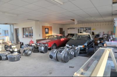 A VENDRE GARAGE AUTOMOBILE MURS ET FOND DE COMMERCE ET MAISON D