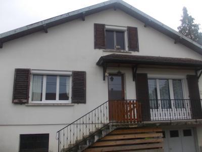 Secteur Chaussin vends solide maison de 7 pièces, 110m² habitables sur 2500m² de terrain clos, idem