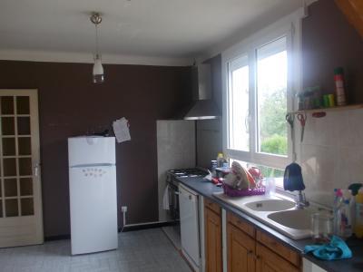 Secteur Chaussin vends solide maison de 7 pièces, 110m² habitables sur 2500m² de terrain clos, cuisine ouverte traditionnelle