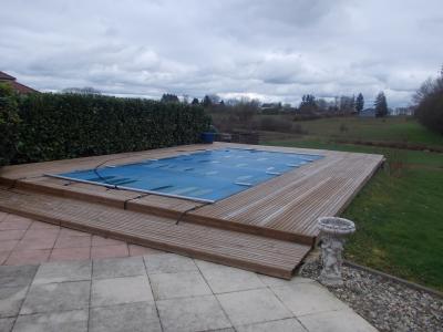 Secteur Chaumergy, vends agréable maison (2007) de 6 pièces, 110m², piscine sur 4200m² de terrain, piscine
