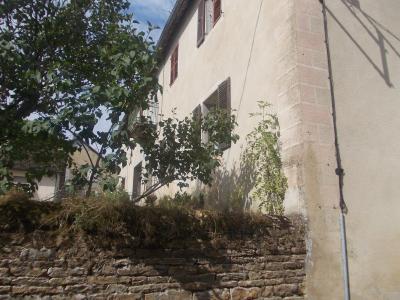Secteur Sellières, vends belle maison en pierres de 1813, 5 pièces, 125m² sur 6000m² terrain clos, coté droit