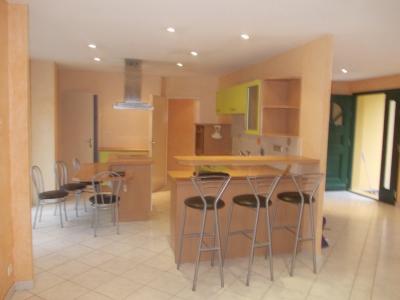 Secteur Chaussin, vends belle maison (2002 ) de 7 pièces, 120m², 2 garage sur 2300m² de terrain clos, cuisine depuis séjour