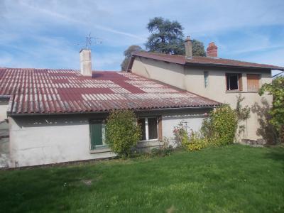 Pierre de Bresse, vends Maison de 140m² et ancienne boulangerie de 200m², sur 1416m² de terrain., arrière depuis jardin