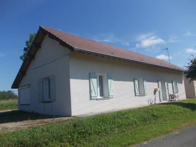 Secteur Chaumergy, à vendre agréable maison de 5 pièces 95m² habitable sur 1400m² de terrain., devant gauche