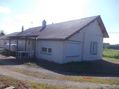 Secteur Chaumergy, à vendre agréable maison de 5 pièces 95m² habitable sur 1400m² de terrain., Vue devant droit