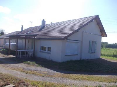 Secteur Chaumergy, à vendre agréable maison de 5 pièces 95m² habitable sur 1400m² de terrain., Arrière droit