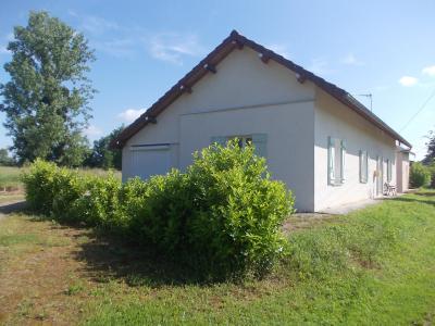 Secteur Chaumergy, à vendre agréable maison de 5 pièces 95m² habitable sur 1400m² de terrain., coté gauche
