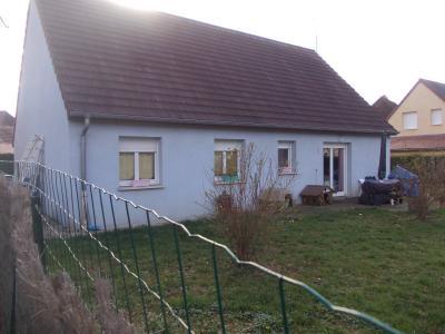MONT SOUS VAUDREY (39380) A VENDRE  maison récéente POUR INVESTISSEURS  rendement de 5,95% brut., vue arrière