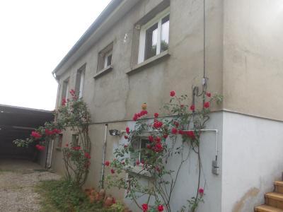 Secteur Chaussin vends maison de 5 pièces 85m², terrain clos de 1500m² avec 60m² de dépendances., vue de droite arrière