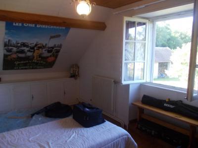 Chaumergy, à vendre ancienne ferme restaurée de 8 pièces, 240m² sur 5093m² de terrain clos., chambre étage