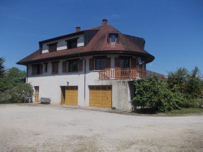 Proche Chaussin, vends belle maison de 7 pièces, 135m², dépendances sur 4800m² de terrain arboré, vue arrière