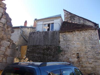 Sellières centre, à vendre maison en pierres de 5 pièces, 120m² habitables avec grande cave voutée., Vue arrière