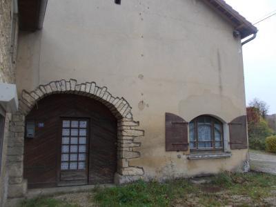 Secteur Mouchard, à vendre maison de village en pierres de 6 pièces 110m² habitables., face avant