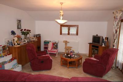 Chaussin à vendre confortable maison de 6 pièces, 170m², dépendances sur 12500m² de terrain clos., séjour/salon 45m²