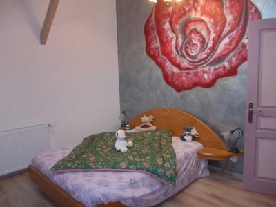 Chaussin à vendre confortable maison de 6 pièces, 170m², dépendances sur 12500m² de terrain clos., chambre 2 étage