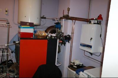 Chaussin à vendre confortable maison de 6 pièces, 170m², dépendances sur 12500m² de terrain clos., chaudière à bois et cuadière électrique