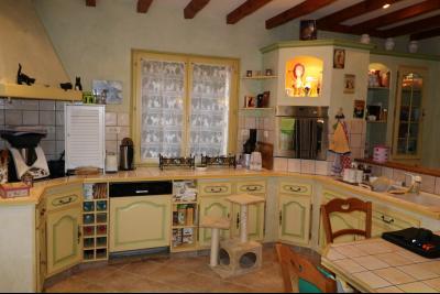 Chaussin à vendre confortable maison de 6 pièces, 170m², dépendances sur 12500m² de terrain clos., cuisine équipée 21m²
