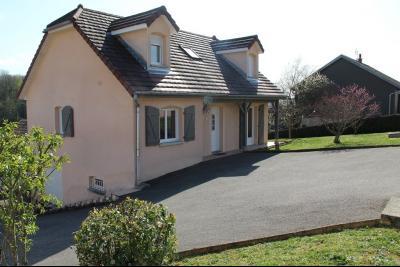Mouchard, belle maison récente de 5 pièces, 110m², piscine, terrasse sur 1000m² de terraln clos., coté droit