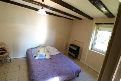 Chaussin à vendre maison (ancienne ferme) de 4 pièces, dépendances 260 m² sur 5417m² de terrain., chambre 2