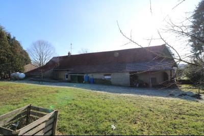 Chaussin à vendre maison (ancienne ferme) de 4 pièces, dépendances 260 m² sur 5417m² de terrain., vue arrière