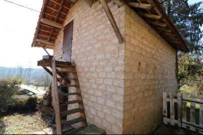 Chaussin à vendre maison (ancienne ferme) de 4 pièces, dépendances 260 m² sur 5417m² de terrain., local four à pain