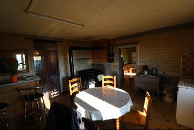 Chaussin à vendre maison (ancienne ferme) de 4 pièces, dépendances 260 m² sur 5417m² de terrain., cuisine