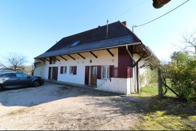 Chaumergy, à vendre très agréable maison de 7 pièces, 179m² sur 10060m² de terrain clos., vue droite depuis entrée