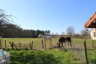 Secteur Chaussin, vends ancienne ferme de 7 pièces, 180m² , dépendances sur 2 hecatres de terrain., pature 20000m²