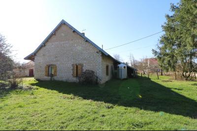 Secteur Chaussin, vends ancienne ferme de 7 pièces, 180m² , dépendances sur 2 hecatres de terrain., vue arrière