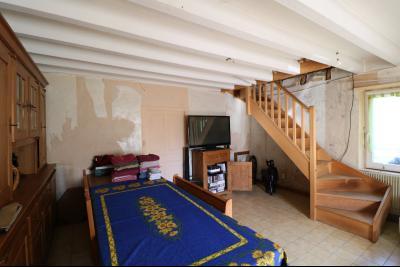 Secteur Chaussin, vends ancienne ferme de 7 pièces, 180m² , dépendances sur 2 hecatres de terrain., salon/séjour