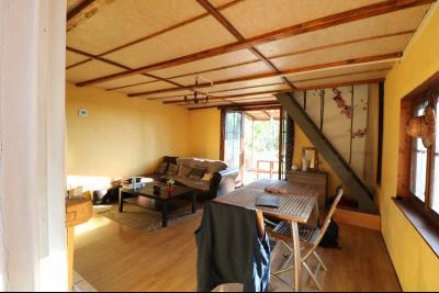 Proche Chaumergy, vends maison et ferme 75 et 150m² en cours de restauration sur 2750 m² de terrain., salon/séjour
