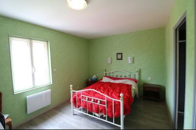 15 mn de Dole vends grande maison familiale de 220 et 150m² habitable dur 5600m² de terrain clos., chambre avec cheminée chalet